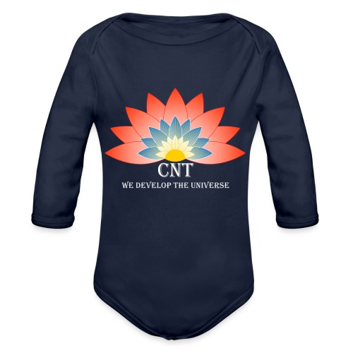Support Renewable Energy with CNT to live green! - Organic Longsleeve Baby Bodysuit