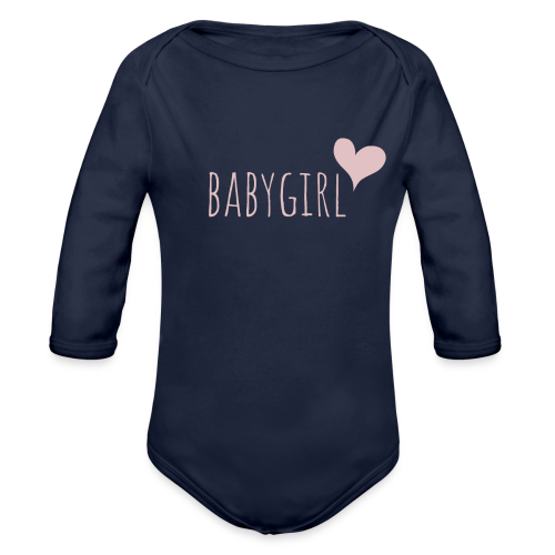 babygirl - Baby Bio-Langarm-Body