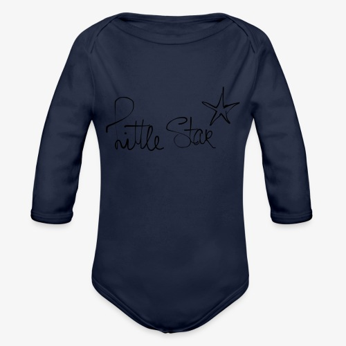 littlestar - Baby bio-rompertje met lange mouwen