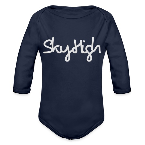 SkyHigh - Bella Women's Sweater - Light Gray - Organic Longsleeve Baby Bodysuit