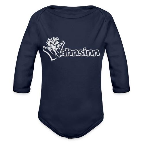 Wahnsinn Logo - Baby bio-rompertje met lange mouwen
