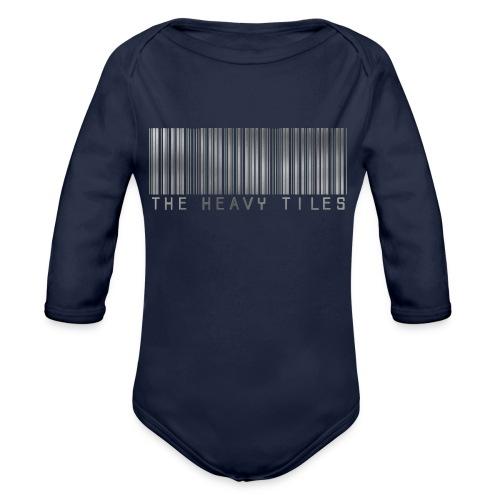 The Heavy Tiles Barcode collection - Body ecologico per neonato a manica lunga