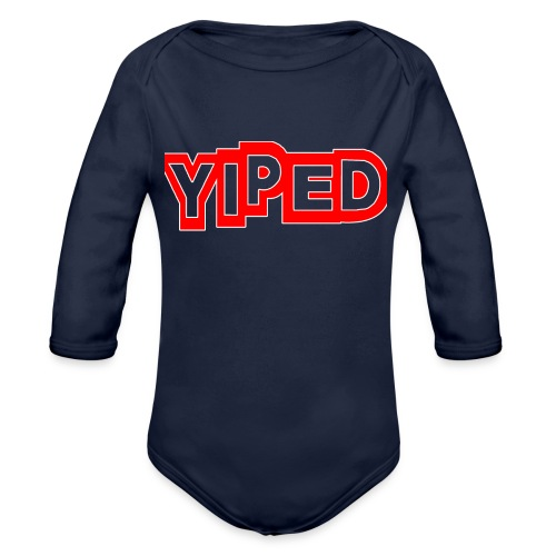 FIRST YIPED OFFICIAL CLOTHING AND GEARS - Organic Longsleeve Baby Bodysuit