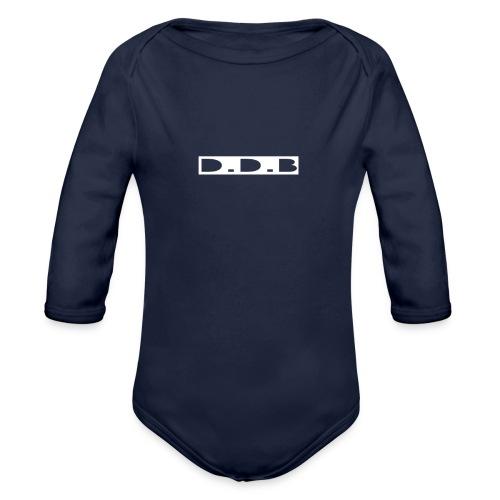 Blackout Range - Organic Longsleeve Baby Bodysuit