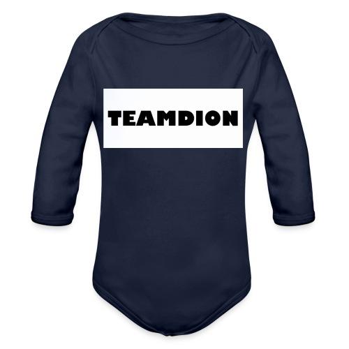 25258A83 2ACA 487A AC42 1946E7CDE8D2 - Organic Longsleeve Baby Bodysuit