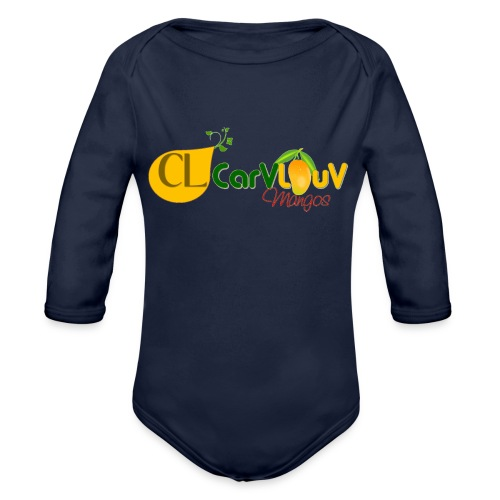 CarVlouV - Body orgánico de manga larga para bebé