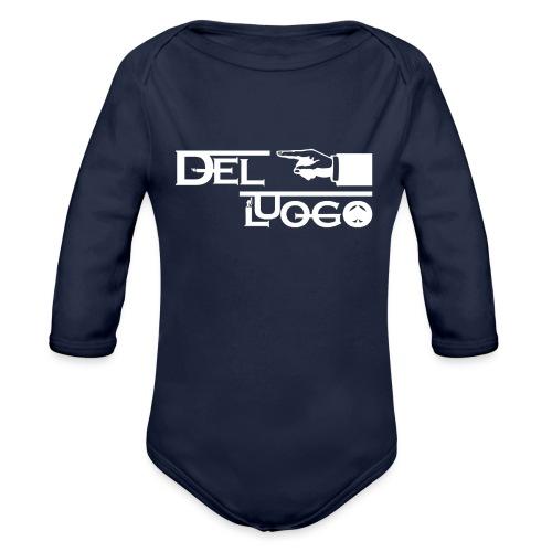HOODIE DEL LUOGO (NERO,GRIGIO,ROSSO) - Organic Longsleeve Baby Bodysuit