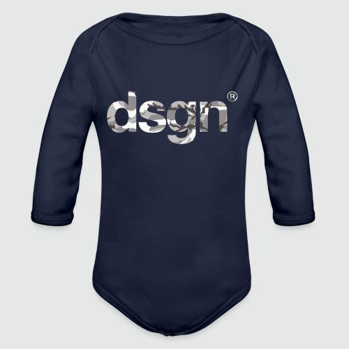 DSGN_05 - Baby bio-rompertje met lange mouwen