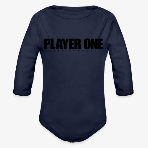 GET READY PLAYER ONE! - Langærmet babybody, økologisk bomuld