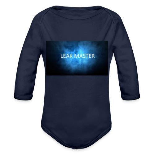 leak master - Organic Longsleeve Baby Bodysuit