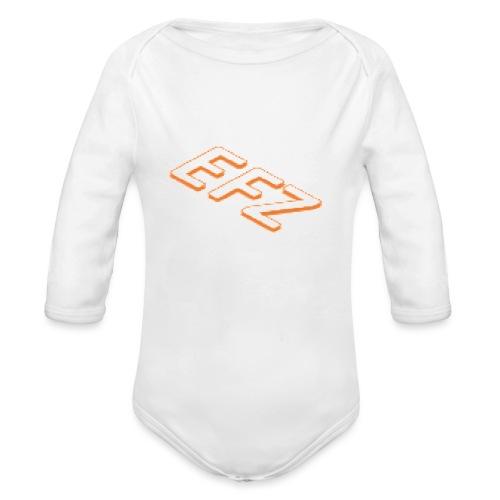 S.1 EFZ MAINLOGOSHIRT - Baby Bio-Langarm-Body