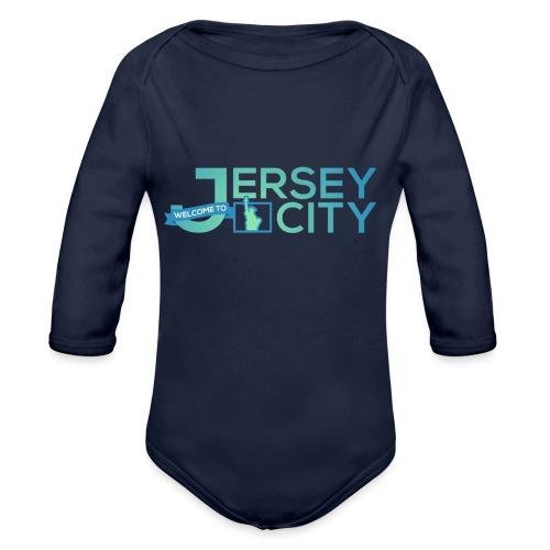 Logo Jersey City - Body Bébé bio manches longues