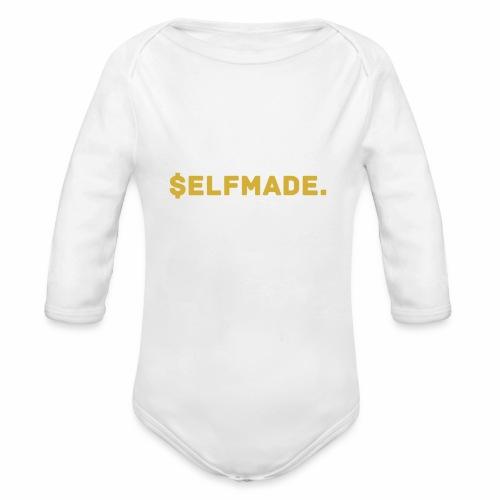 Millionaire. X $ elfmade. - Organic Longsleeve Baby Bodysuit
