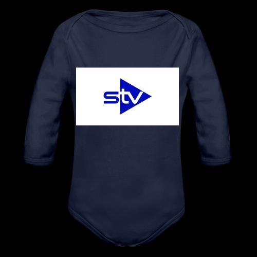 Skirä television - Ekologisk långärmad babybody