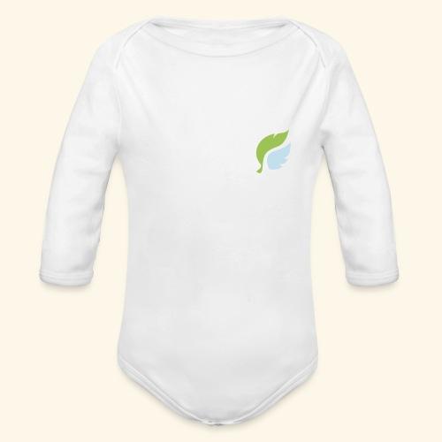 Akan White - Vauvan pitkähihainen luomu-body