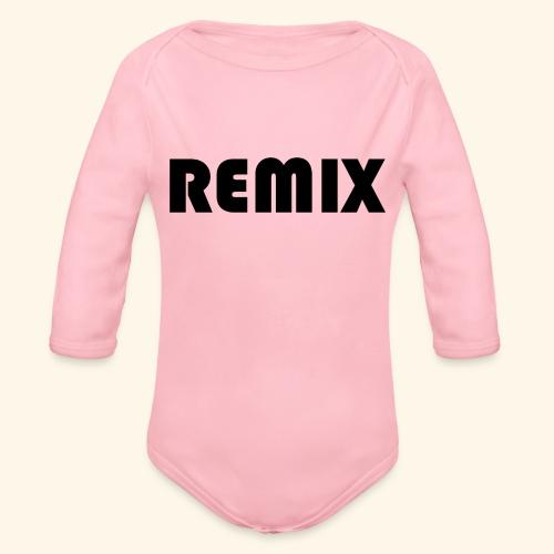 Remix - Body orgánico de manga larga para bebé