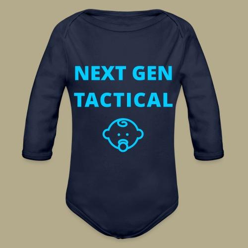 Tactical Baby Boy - Baby bio-rompertje met lange mouwen