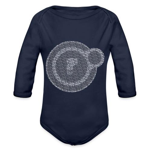 Orbita Morta - Destiny - Body ecologico per neonato a manica lunga