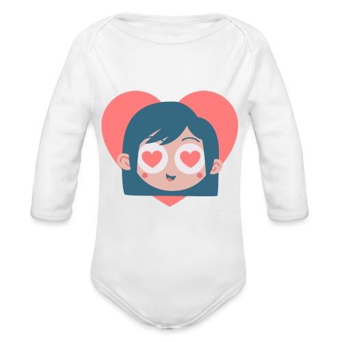 Gamine Amour - Body Bébé bio manches longues
