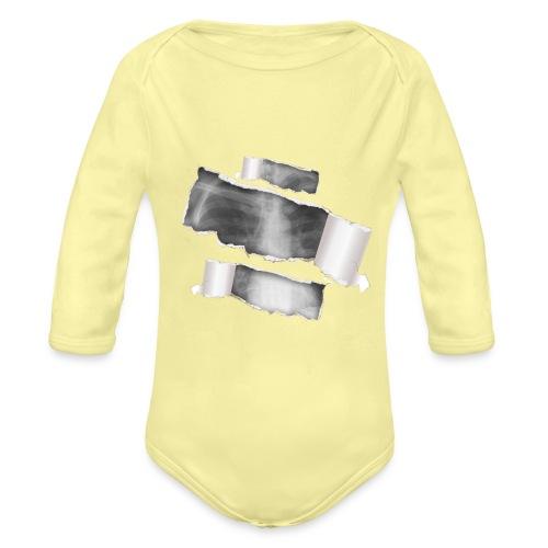 Chest X-Ray - Body ecologico per neonato a manica lunga