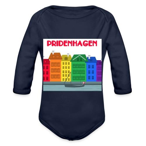 PRIDENHAGEN - Nyhavn - Langærmet babybody, økologisk bomuld