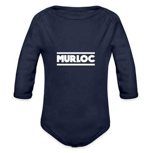 murloc-dising - Baby bio-rompertje met lange mouwen