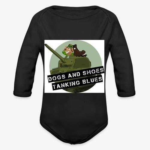 logo dogs nieuw - Baby bio-rompertje met lange mouwen