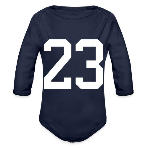 23 VISUR Stefan - Baby Bio-Langarm-Body