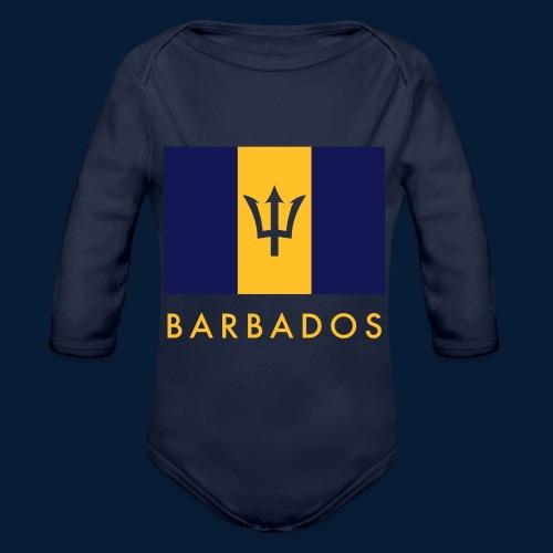 Barbados - Baby Bio-Langarm-Body