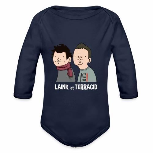 Laink et Terracid - Body Bébé bio manches longues