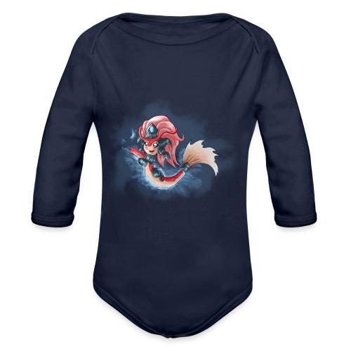 Chibi Nami Koi DONNA - Body ecologico per neonato a manica lunga