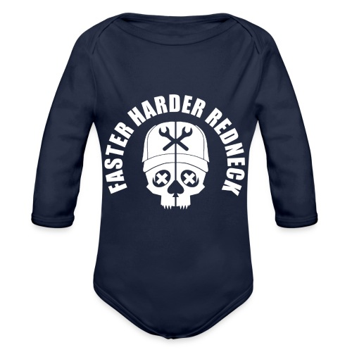 Faster Harder Redneck - Ekologisk långärmad babybody