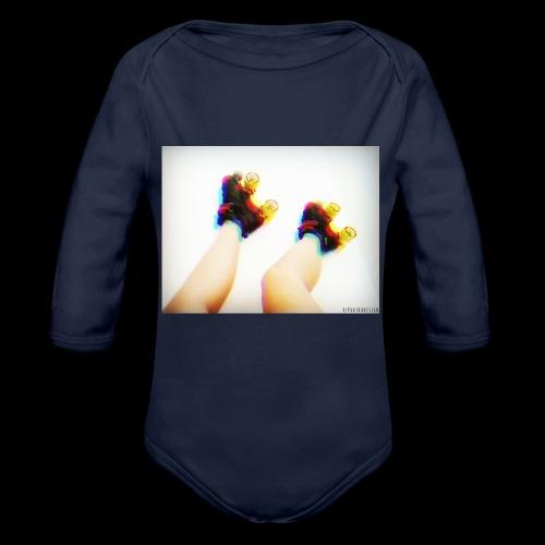 Kangaskassi - Vauvan pitkähihainen luomu-body