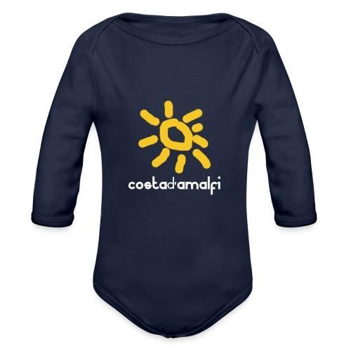 costadamalfi - Body ecologico per neonato a manica lunga