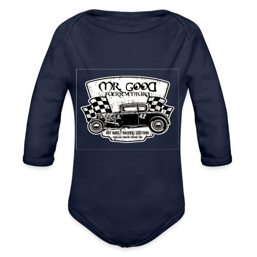 GARAGE - Body ecologico per neonato a manica lunga