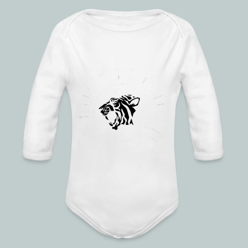 The Sherikan Music Attraction logo - Ekologisk långärmad babybody