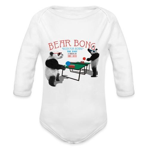 Bear Bong - Vauvan pitkähihainen luomu-body