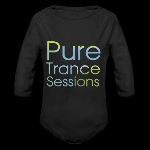 PureTrance100 transparantGROOT kopie png - Organic Longsleeve Baby Bodysuit