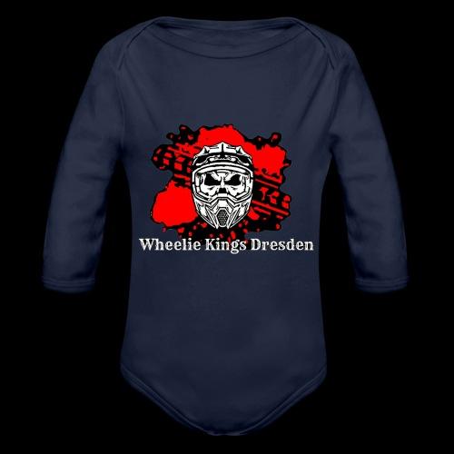 WheelieKingsDresden Hoddie - Baby Bio-Langarm-Body