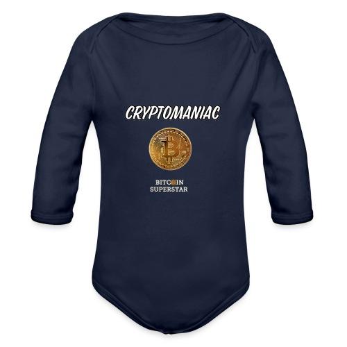 Cryptomaniac - Body ecologico per neonato a manica lunga