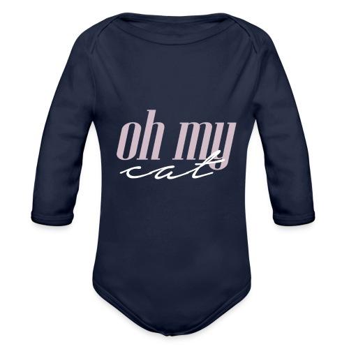 Oh my cat - Body orgánico de manga larga para bebé