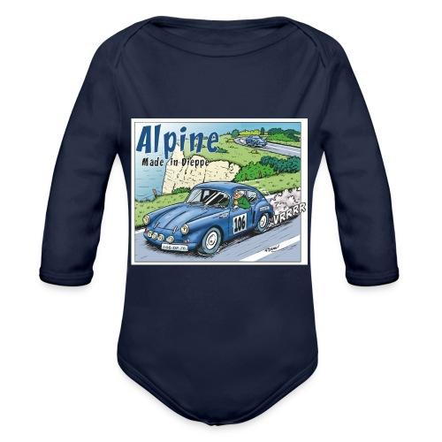 Polete en Alpine 106 - Body Bébé bio manches longues