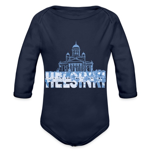 Helsinki Cathedral - Organic Longsleeve Baby Bodysuit