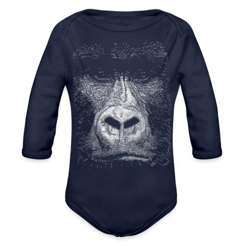 Gorilla - Body ecologico per neonato a manica lunga
