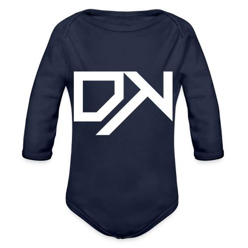 DewKee Logo Mug White - Organic Longsleeve Baby Bodysuit