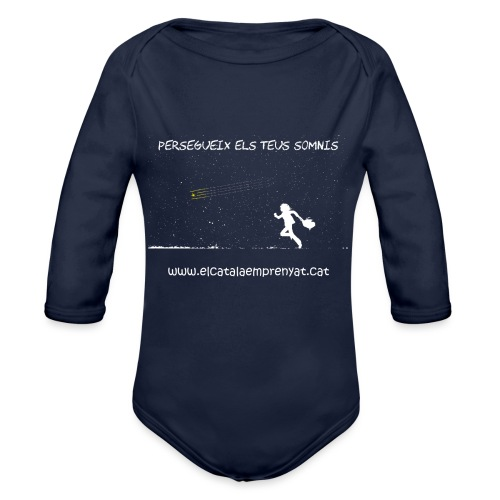 SOMNIS - Body orgánico de manga larga para bebé