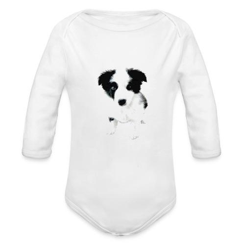 fox - Body orgánico de manga larga para bebé