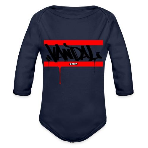 #EASY Graffiti Vandal T-Shirt - Body ecologico per neonato a manica lunga