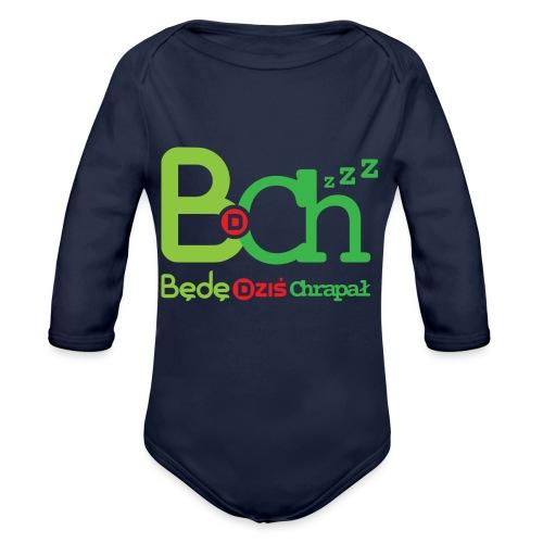 BDCh - Ekologiczne body niemowlęce z długim rękawem