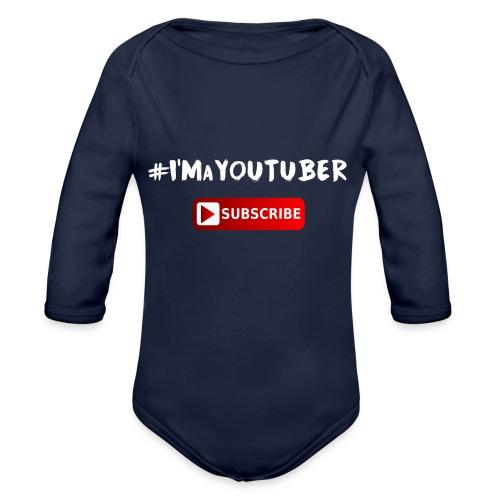 I'm a Youtuber : Subscribe - Body ecologico per neonato a manica lunga